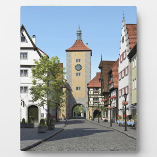 Bavaria Town Main Street Plaque