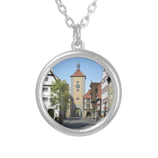 Bavaria Town Main Street Silver Plated Necklace