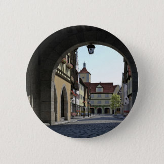 Bavaria Town Through an Arch 2 Inch Round Button