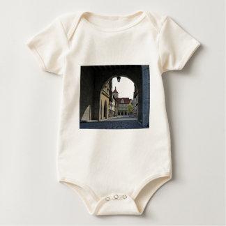 Bavaria Town Through an Arch Baby Bodysuit