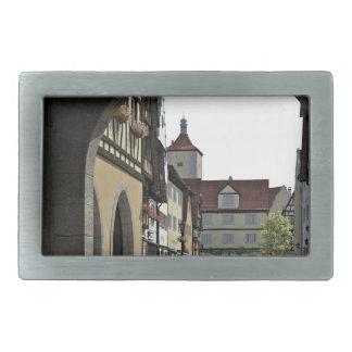 Bavaria Town Through an Arch Belt Buckle
