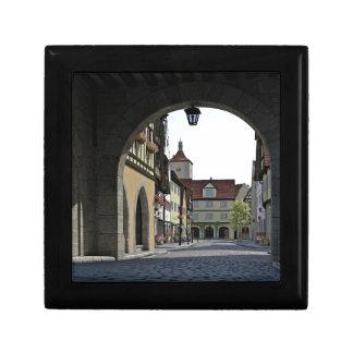 Bavaria Town Through an Arch Gift Box
