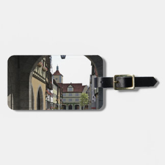 Bavaria Town Through an Arch Luggage Tag