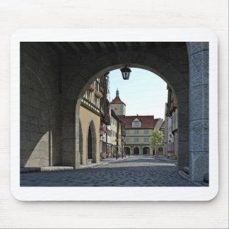 Bavaria Town Through an Arch Mouse Pad