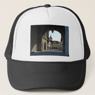 Bavaria Town Through an Arch Trucker Hat