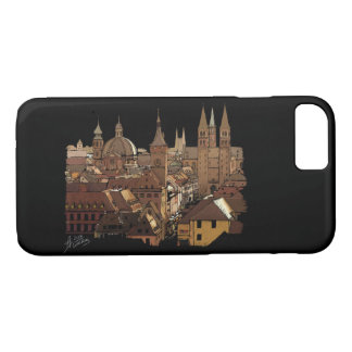 bavaria Wuerzburg Germany skyline architecture iPhone 8/7 Case