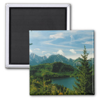 Bavarian Alps Magnet