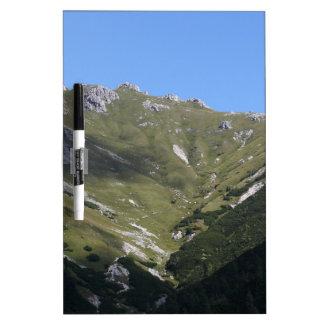 Bavarian Alps near Berchtesgaden Dry Erase Board