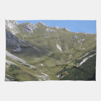 Bavarian Alps near Berchtesgaden Kitchen Towel