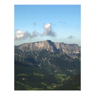 Bavarian Alps near Berchtesgaden Letterhead