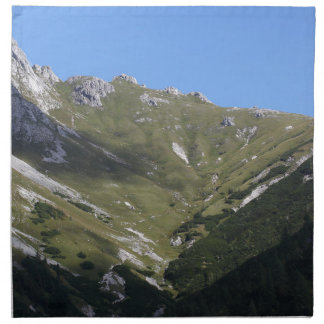 Bavarian Alps near Berchtesgaden Napkin