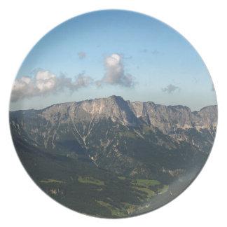 Bavarian Alps near Berchtesgaden Plate
