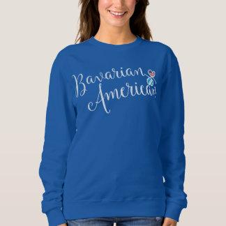 Bavarian American Entwinted Hearts Sweatshirt