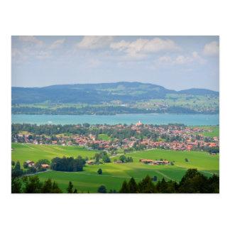 Bavarian Countryside Postcard