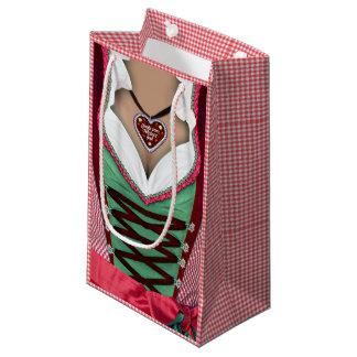 Bavarian Dirndl Small Gift Bag