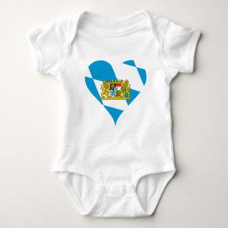 Bavarian flag baby bodysuit