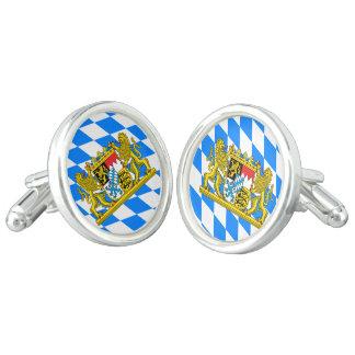Bavarian flag cufflinks