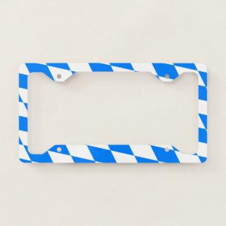 Bavarian Flag Licence Plate Frame