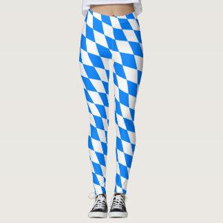 Bavarian Flag Pattern Leggings