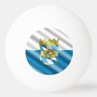 Bavarian flag ping pong ball