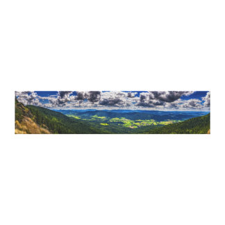 Bavarian forest canvas print