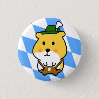 Bavarian Hamster 1 Inch Round Button