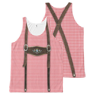 Bavarian Lederhosen All-Over-Print Tank Top