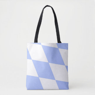 Bavarian lozenge flag tote bag