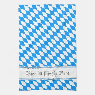 Bavarian samples kitchen towel