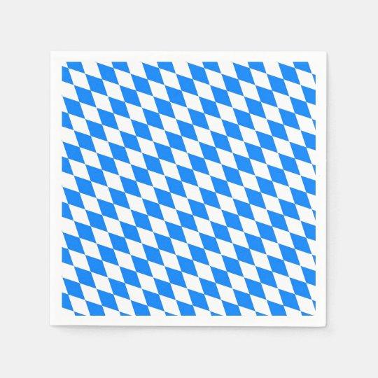 Bavarian Style Oktoberfest Party Paper Napkins