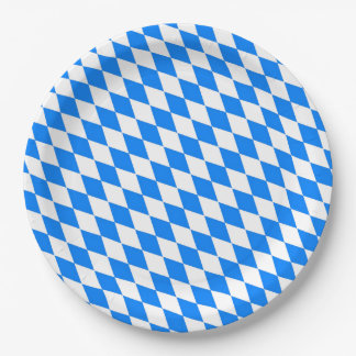 Bavarian Style Oktoberfest Party Paper Plates