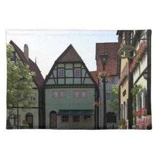 Bavarian Town Street Corner Scene Placemat