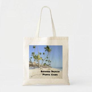 Bavaro Beach on the island of Punta Cana Tote Bag