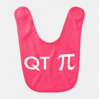 Bavoir Quart pi Geeky