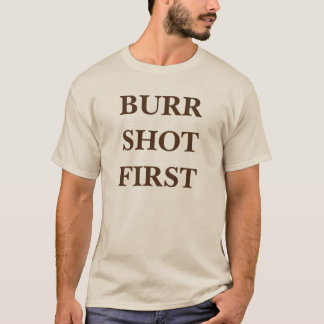 bavures d'Alexandre Hamilton Aaron tirées d'abord T-shirt