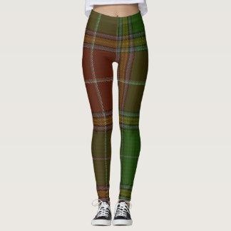 Baxter Clan Tartan Plaid Leggings