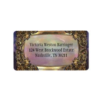 Baxterly's Elegant Pearl Label
