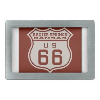 BAXTERSPRINGS66 BELT BUCKLES