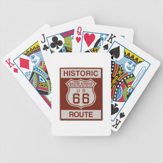 BAXTERSPRINGS66 BICYCLE PLAYING CARDS