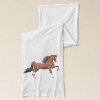 Bay American Saddlebred Horse Scarf