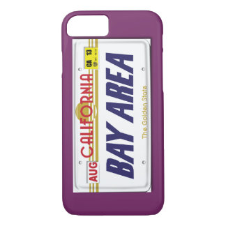 Bay Area Cali Plates iPhone 7 Case
