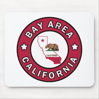 Bay Area California Mouse Pad