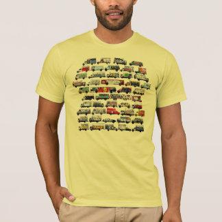 Bay Area Graffiti Trucks Moving Canvases -  Yellow T-Shirt