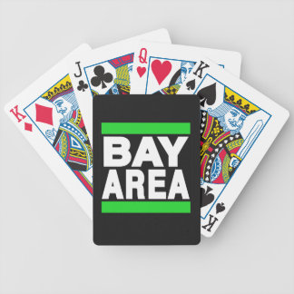 Bay Area Green Poker Deck