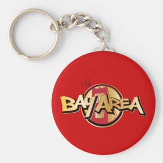 Bay Area Keychain