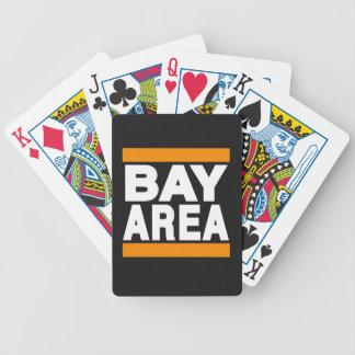 Bay Area Orange Poker Deck
