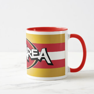 Bay Area Red & Gold Mug