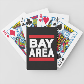 Bay Area Red Poker Deck