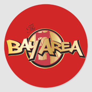 Bay Area Round Sticker