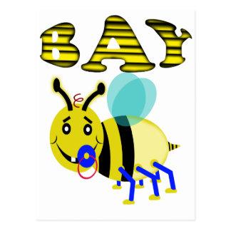 Bay Bee Postcard